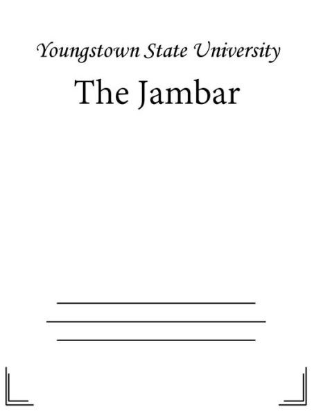 Title details for The Jambar by Youngstown State University - Wait list