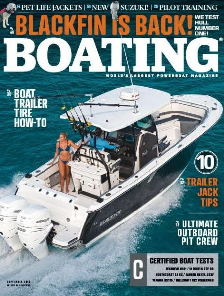 Title details for Boating by Bonnier - Wait list