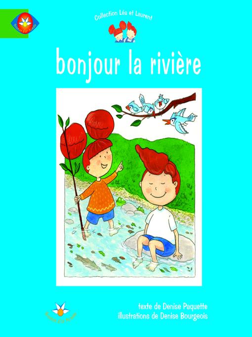 Cover of Bonjour la rivière
