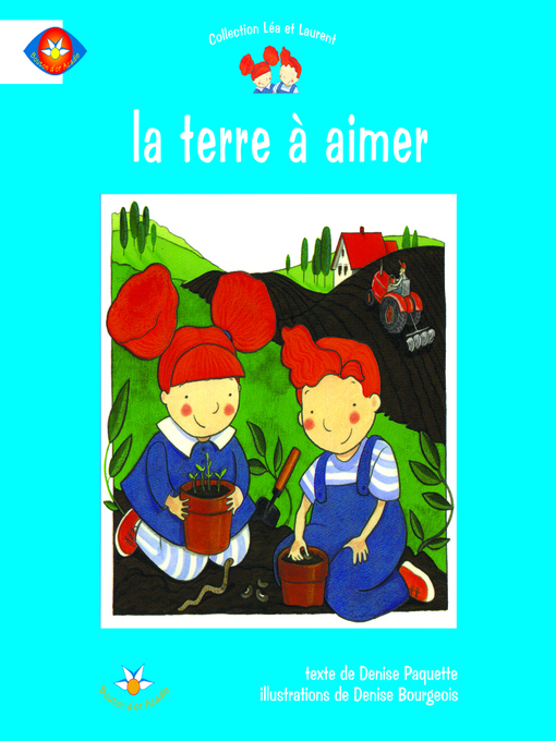 Cover of La terre à aimer