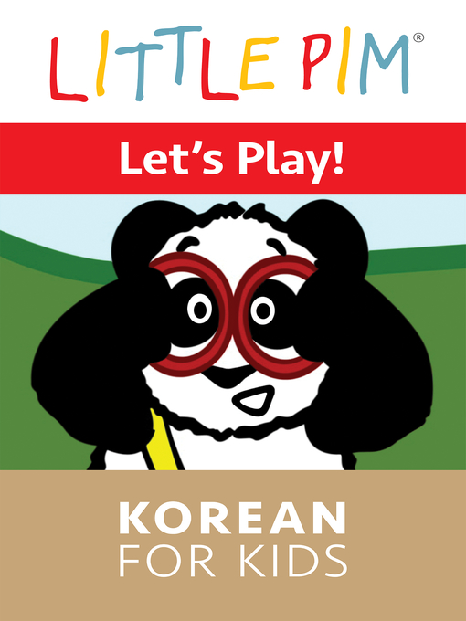 Cover of Little Pim: Let's Play! - Korean for Kids