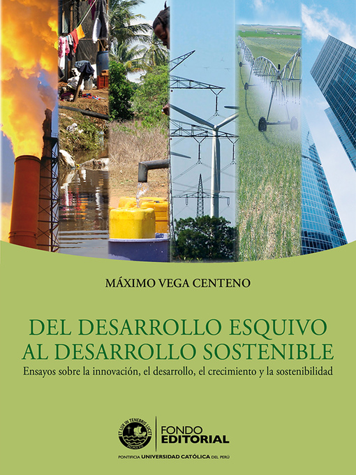 Detalles del título Del desarrollo esquivo al desarrollo sostenible de Máximo Vega - Disponible