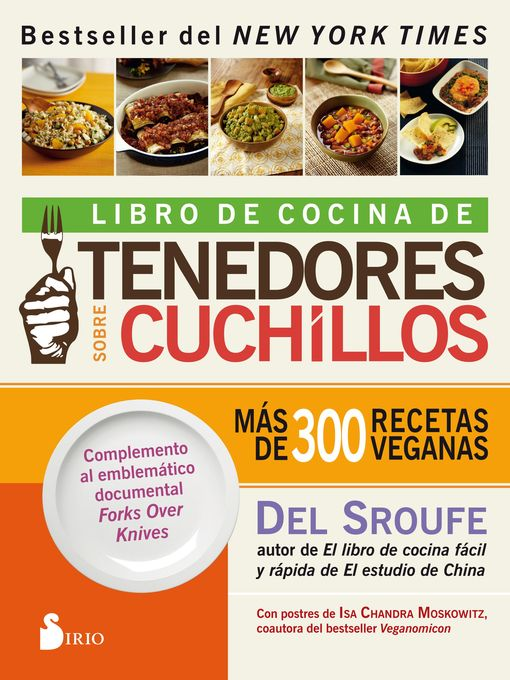 Title details for Libro de cocina de Tenedores sobre cuchillos by Del Sroufe - Available
