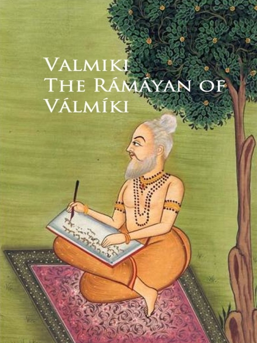 Cover of The Ramayan of Valmiki