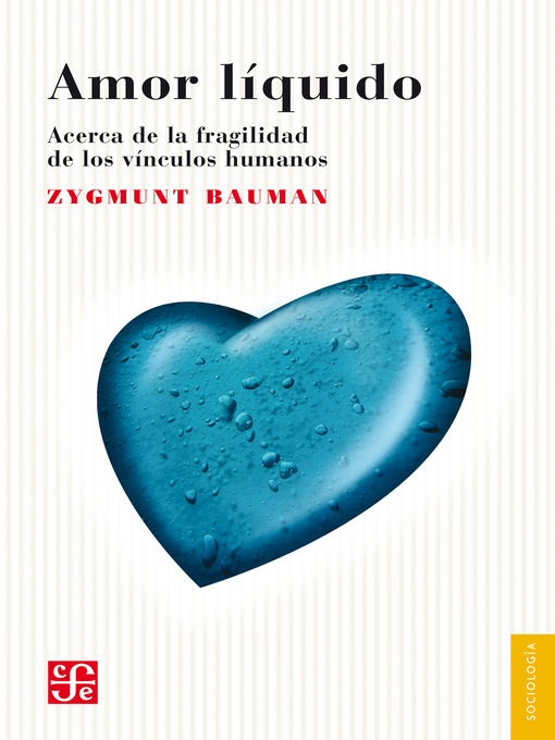 Title details for Amor líquido by Zygmunt Bauman - Available