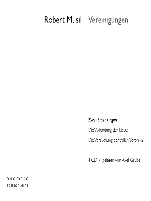 Title details for Vereinigungen by Robert Musil - Available