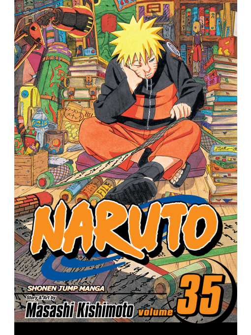 Cover of Naruto, Volume 35
