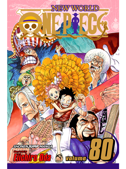 Cover of One Piece, Volume 80