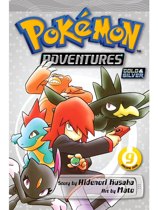 Cover of Pokémon Adventures, Volume 9