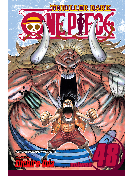Cover of One Piece, Volume 48