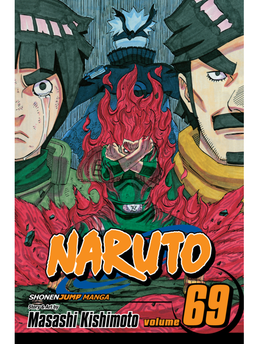 naruto volume 69 the start of a crimson spring