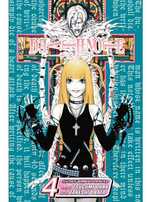 Cover of Death Note, Volume 4