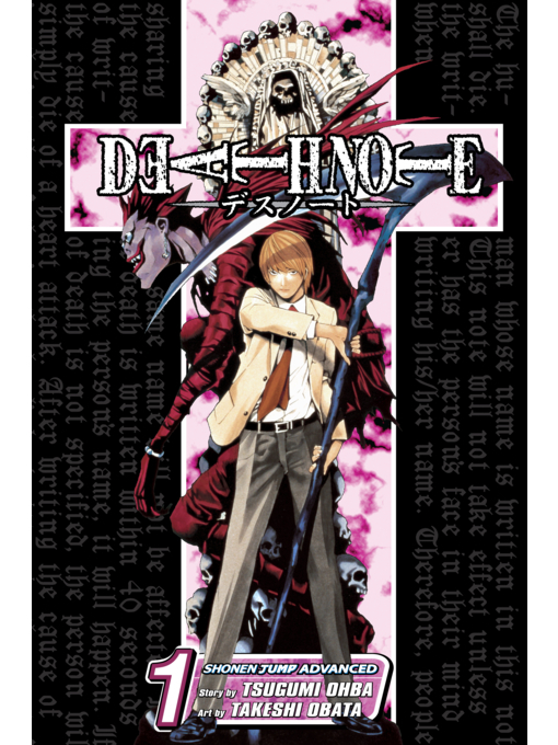 Cover of Death Note, Volume 1