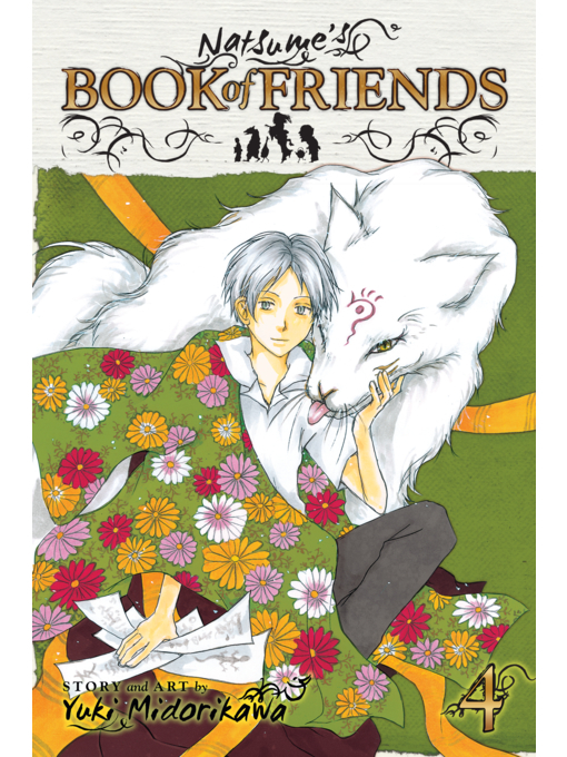 Cover of Natsume's Book of Friends, Volume 4