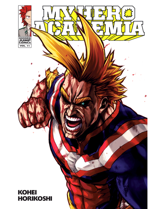 Cover of My Hero Academia, Volume 11