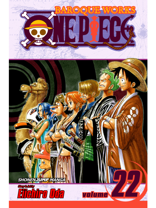 Cover of One Piece, Volume 22