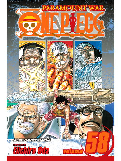 Cover of One Piece, Volume 58