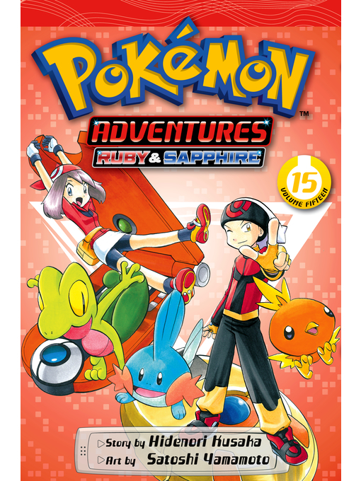 Cover of Pokémon Adventures, Volume 15