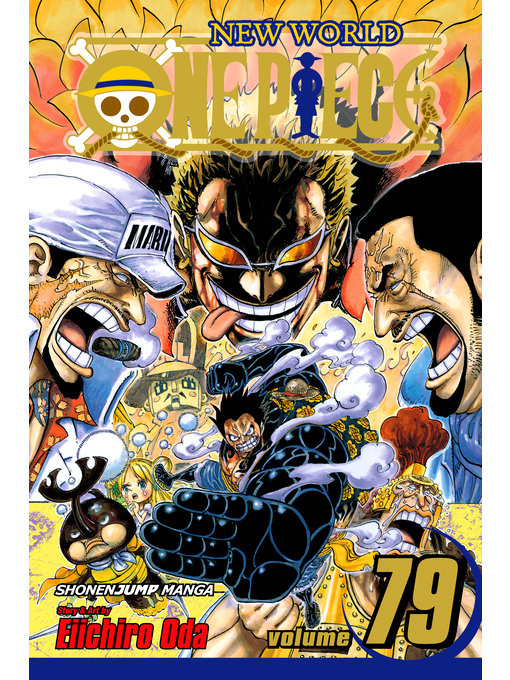 Cover of One Piece, Volume 79