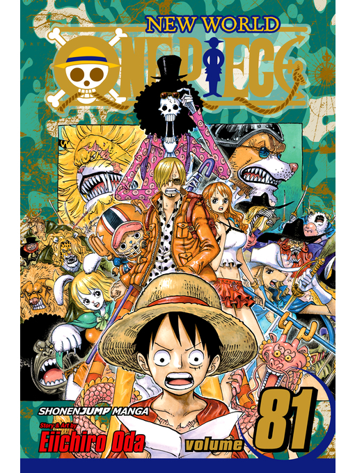 Cover of One Piece, Volume 81