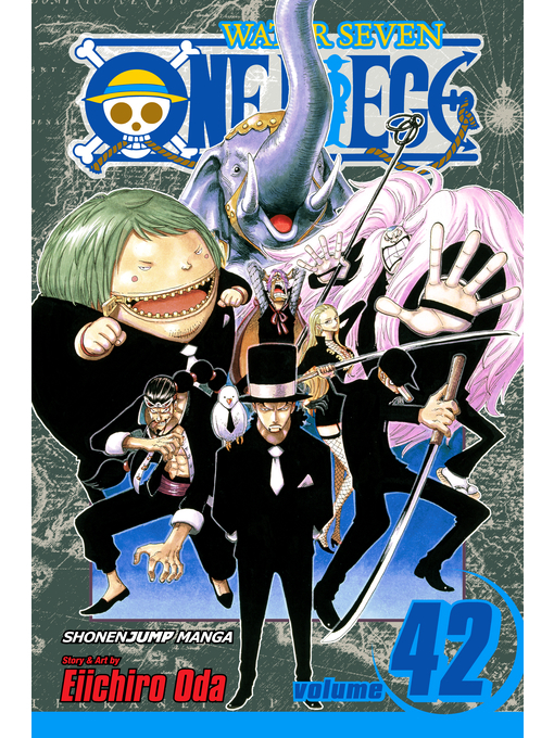 Cover of One Piece, Volume 42