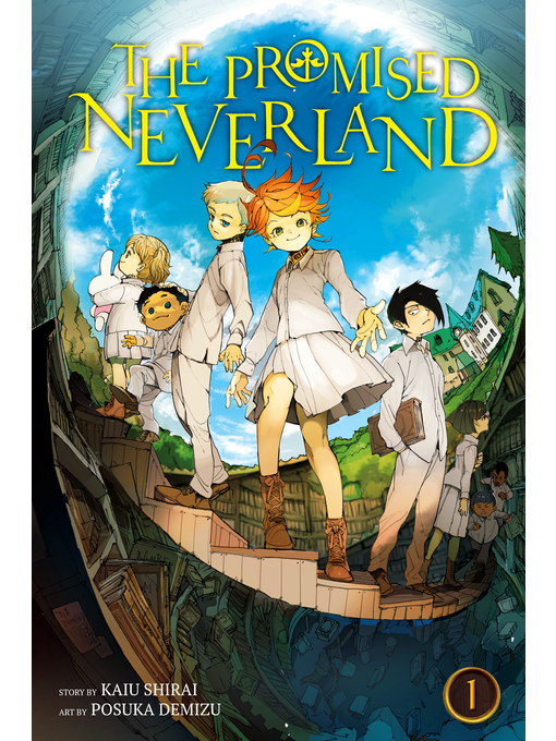 The Promised Neverland, Volume 1 の表紙