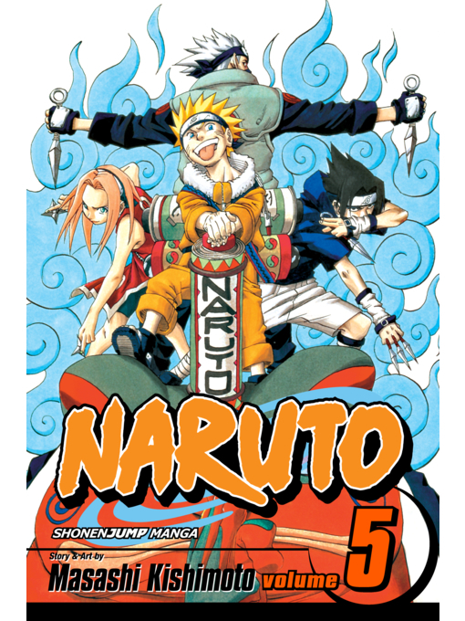 Cover of Naruto, Volume 5
