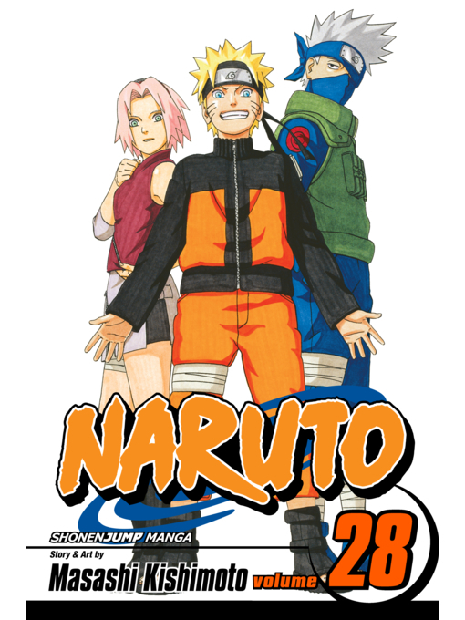 Cover of Naruto, Volume 28
