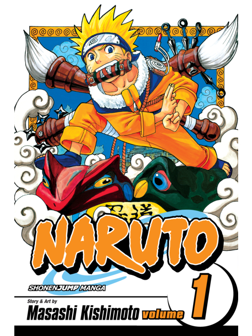 Cover of Naruto, Volume 1