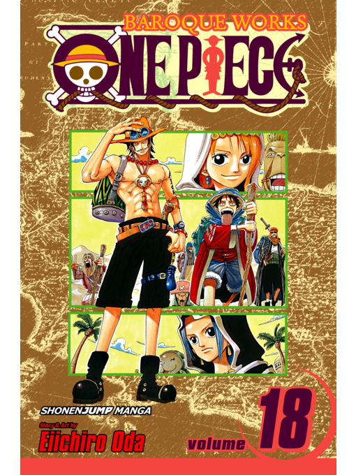 Cover of One Piece, Volume 18