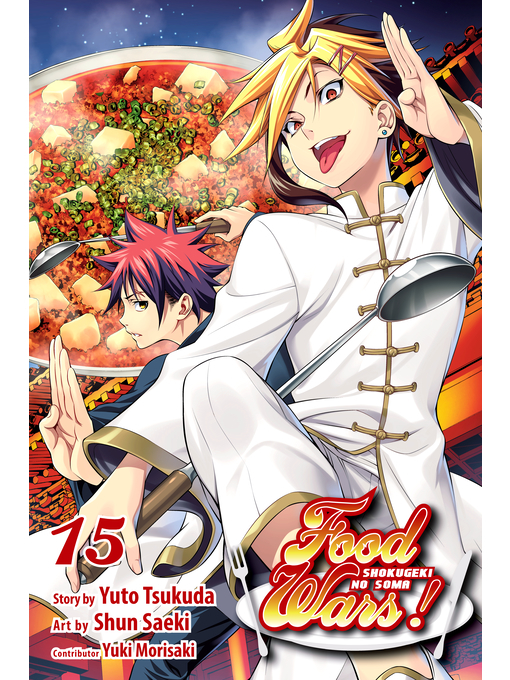 food wars shokugeki no soma vol 8