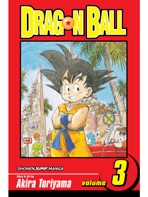 Cover of Dragon Ball, Volume 3