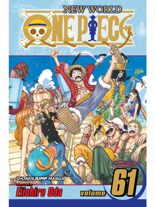 Cover of One Piece, Volume 61