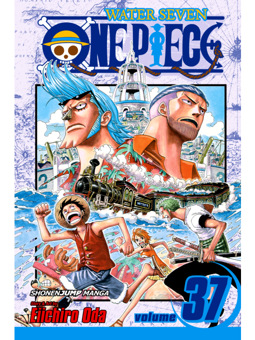 Cover of One Piece, Volume 37