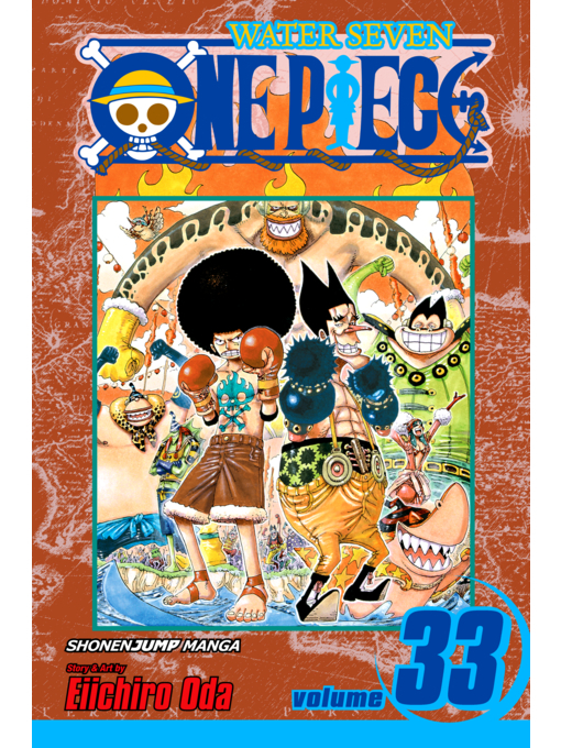 Cover of One Piece, Volume 33