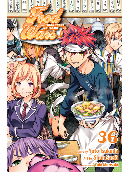 Title details for Food Wars!: Shokugeki no Soma, Volume 36 by Yuto Tsukuda - Available