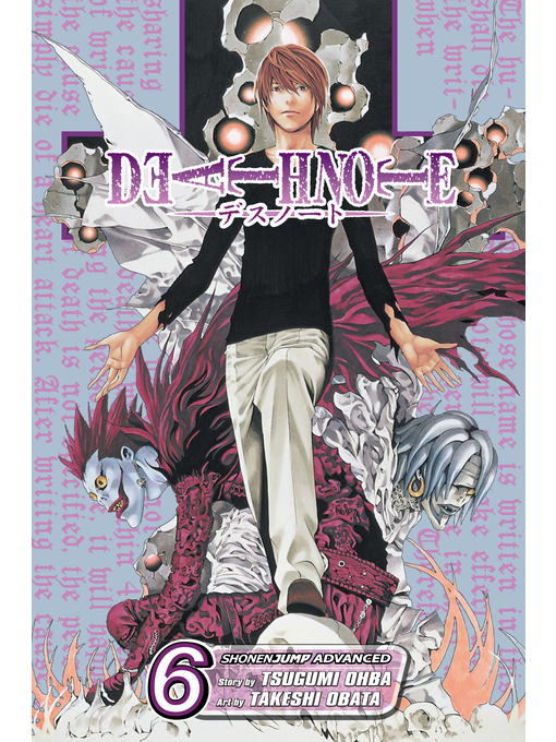 Cover of Death Note, Volume 6