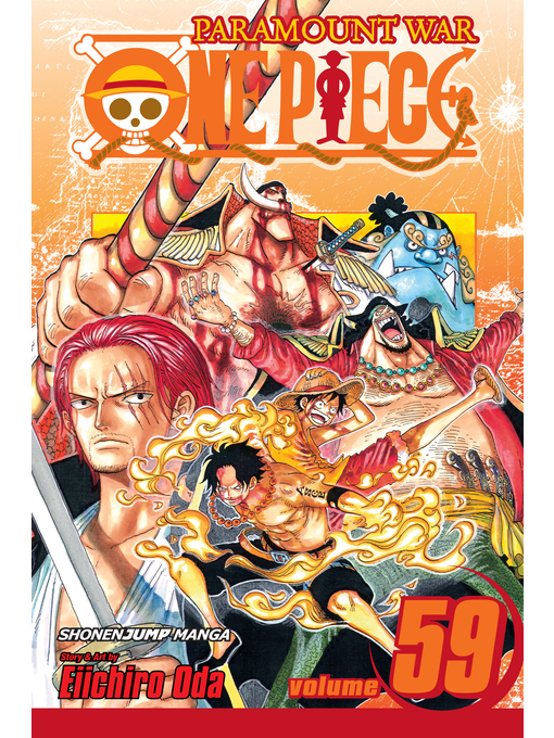 Cover of One Piece, Volume 59