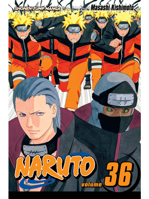 Cover of Naruto, Volume 36