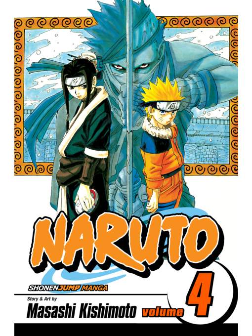 Cover of Naruto, Volume 4
