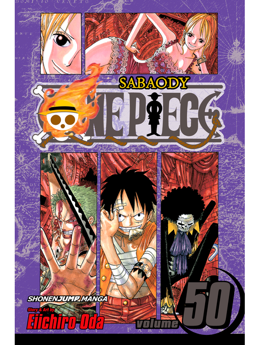 Cover of One Piece, Volume 50