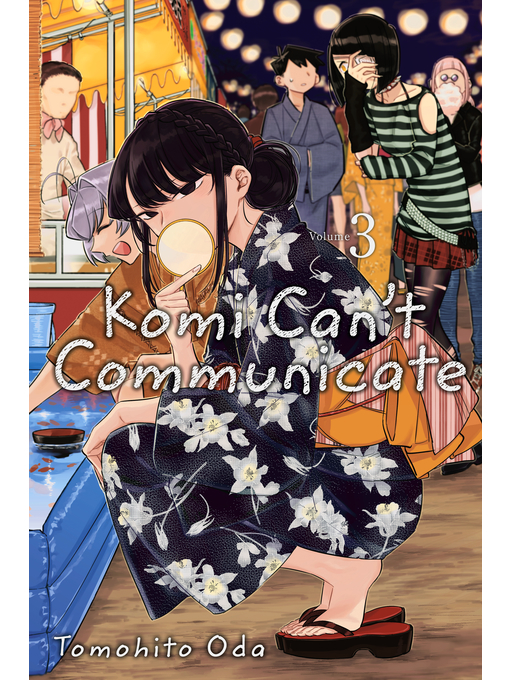 Cover image for book: Komi Can't Communicate, Volume 3