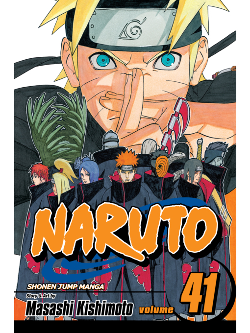Cover of Naruto, Volume 41
