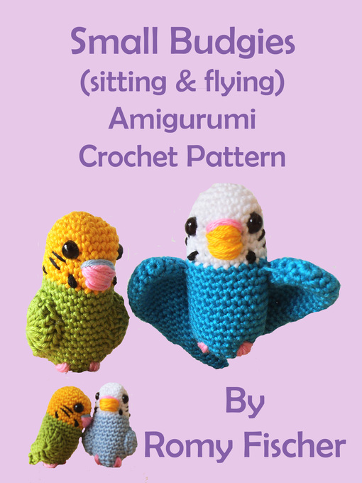 Cover of Small Budgies (sitting & flying)