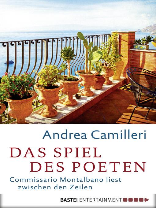 Title details for Das Spiel des Poeten by Andrea Camilleri - Available