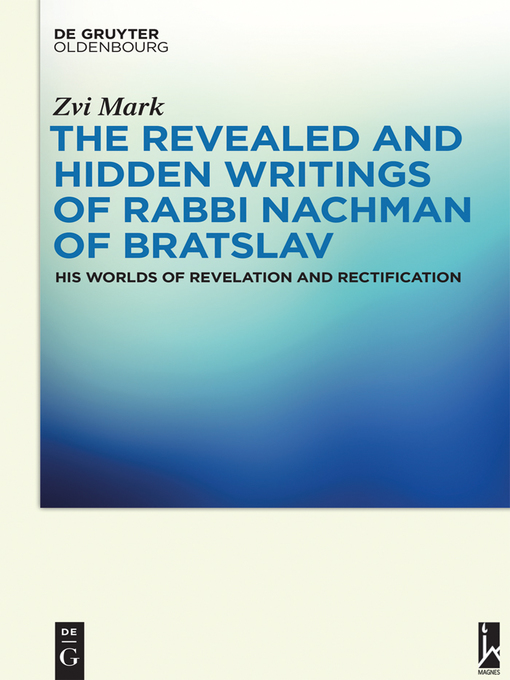 Cover of The Revealed and Hidden Writings of Rabbi Nachman of Bratslav