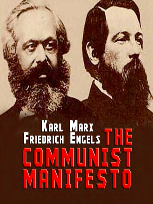 an analysis of the communist manifesto a book by karl marx and friedrich engels
