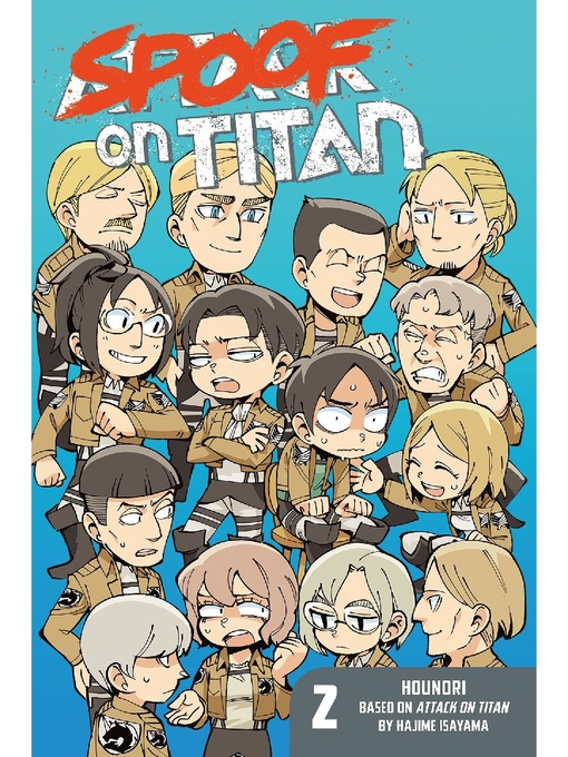 Title details for Spoof on Titan by HOUNORI - Available