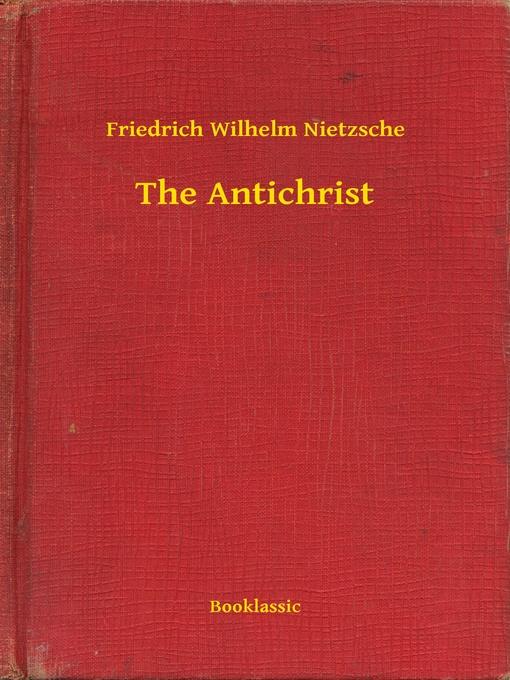 nietzsche the antichrist
