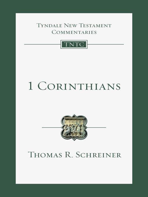 Title details for 1 Corinthians by Leon L. Morris - Available